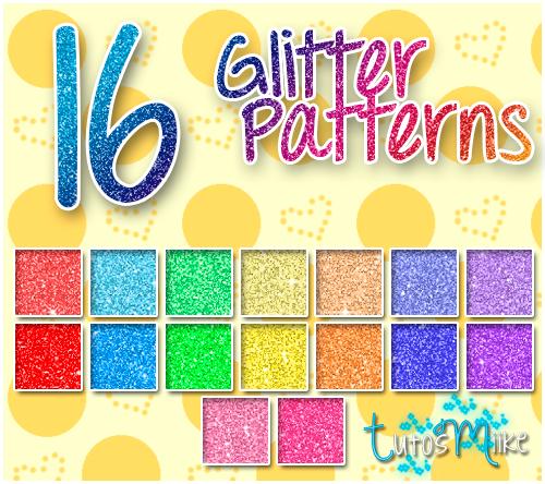 # 16 Glitter Patterns // by TutosMiike