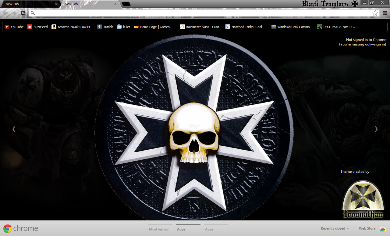 Google uk themes - Black Templar Theme By Ironnathan Black Templar Theme By Ironnathan