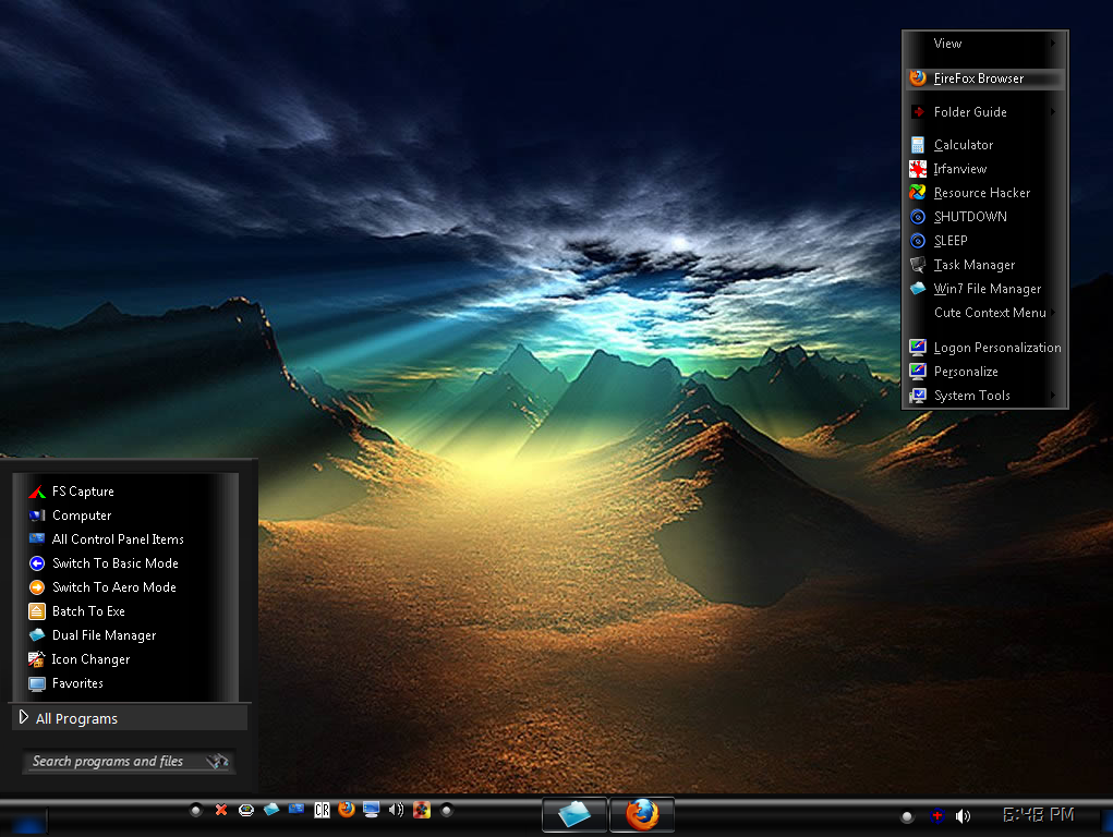 Win7 Earth 2 Theme by KeybrdCowboy on DeviantArt