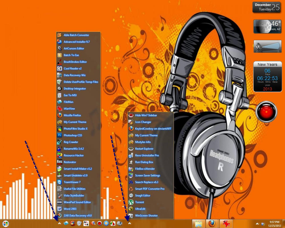 Win7 Taskbar Menu Up StyleHacks 2 Styles by KeybrdCowboy
