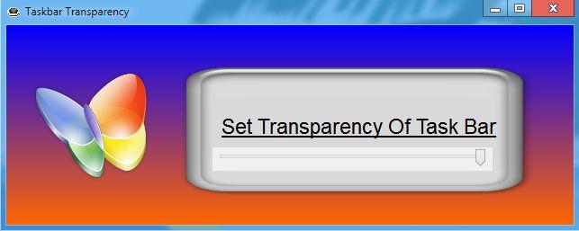 Taskbar Transparency by KeybrdCowboy
