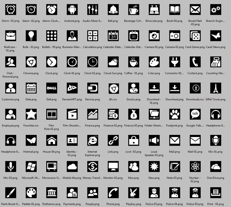 Icons by KeybrdCowboy