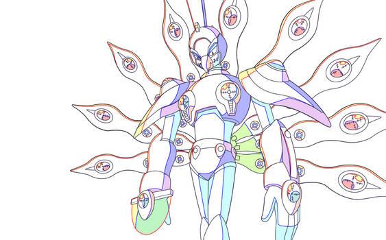 Megaman X - Cyber Peacock 2 (In-between Test)