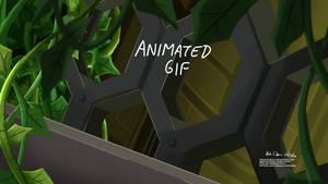 Sting Chameleon (Animated gif)