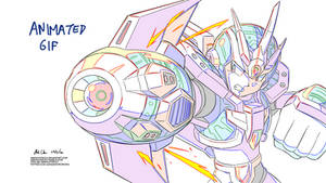 Megaman X4 - Ultimate Armor (In-between test)