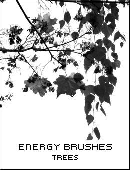 Energy Trees Brushes by nrg-art