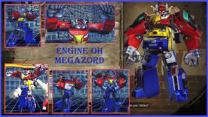 SFXT mods Jack X ENGINE-OH MEGAZORD