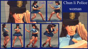 Chun li police woman