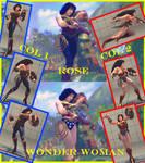 Rose Wonder woman