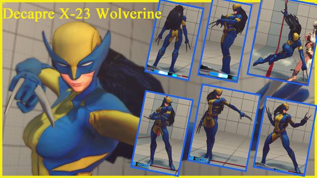 decapre X 23 Wolverine