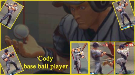 Cody base ball player