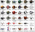 Genesis Games XP Icons
