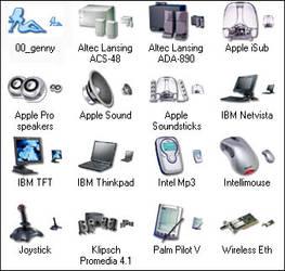 Genesis Hardware XP Icons by genesis01