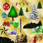 CHRISTMAS GIMP BRUSHES