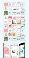 30 Instagram Templates