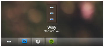 Way. A start orb for W7