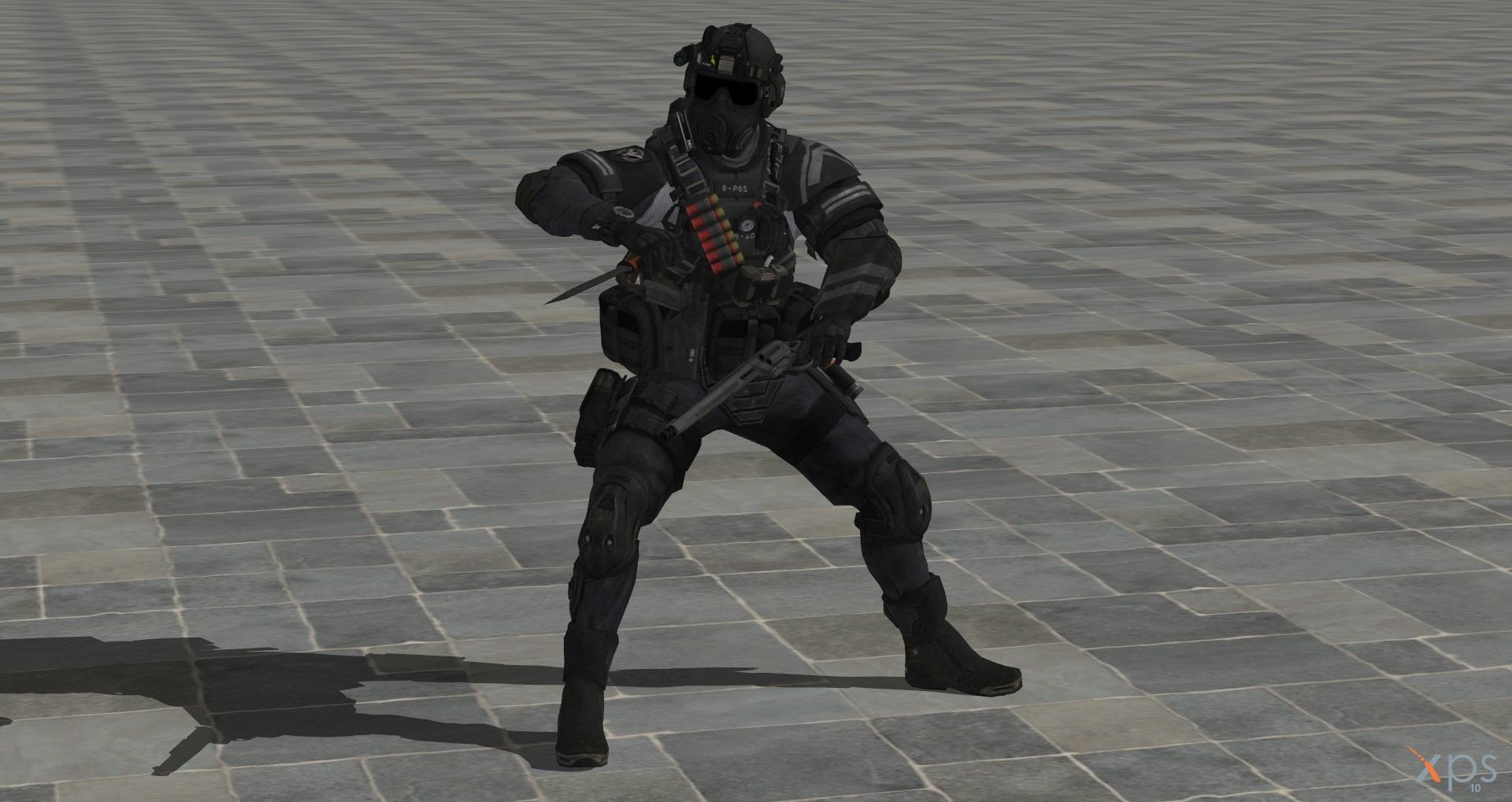 Cod Ghost Maniac Juggernaut For Xnalara By Elly Klamsky On Deviantart