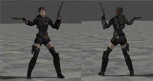 Rebecca Chambers Mod Combat suit - Xps only