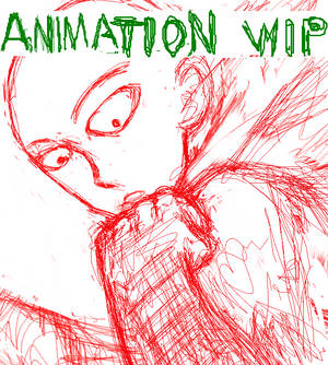Saitama VS Garou One Punch Man Animation WIP