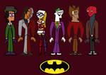 Total Drama Batman Group 2