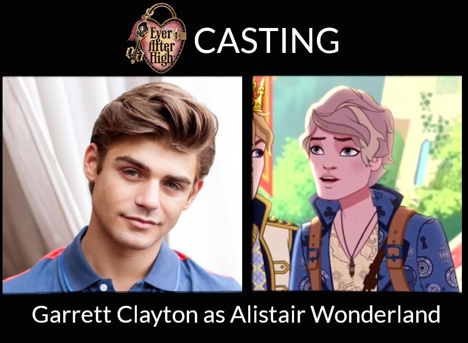 Garrett Clayton As Alistair Wonderland Eah La By