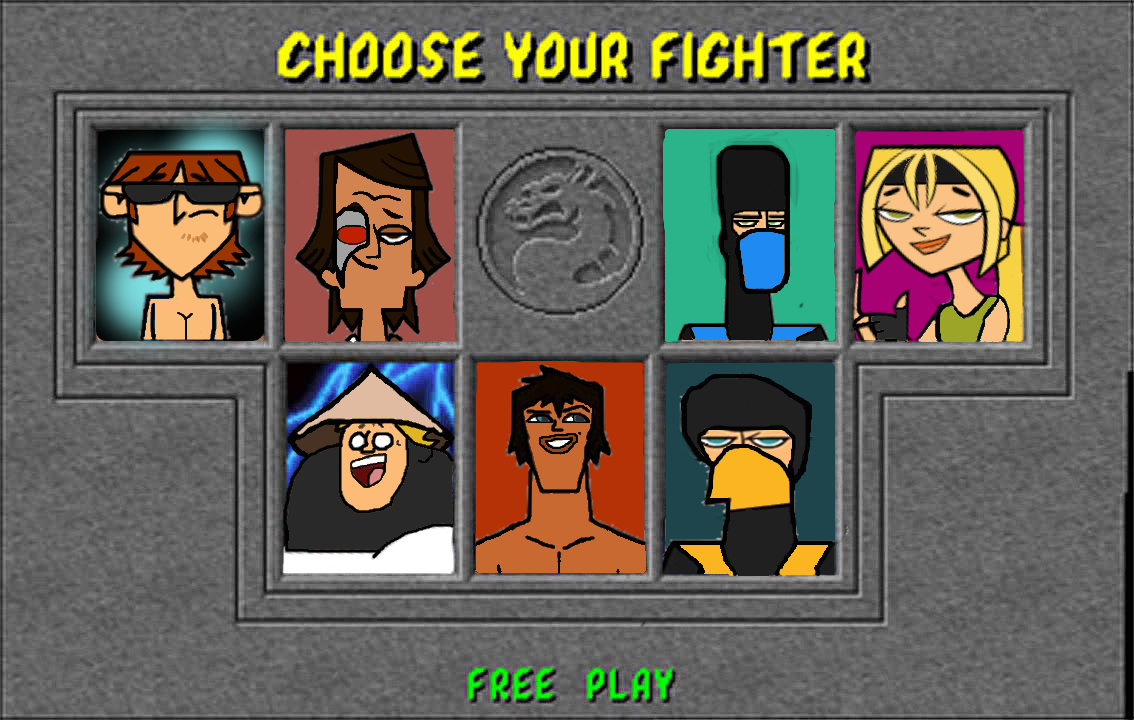 TD Mortal Kombat 1 Character Selection Screen