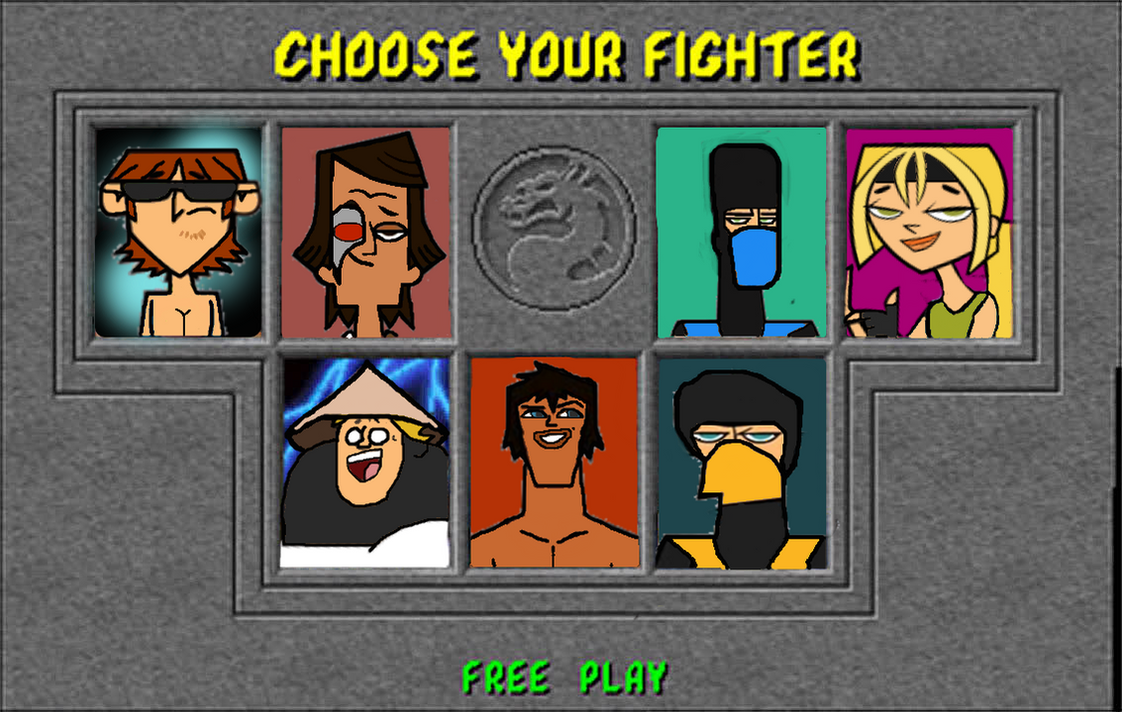 td mortal kombat 1 character selection screen by thunderfists1988 on