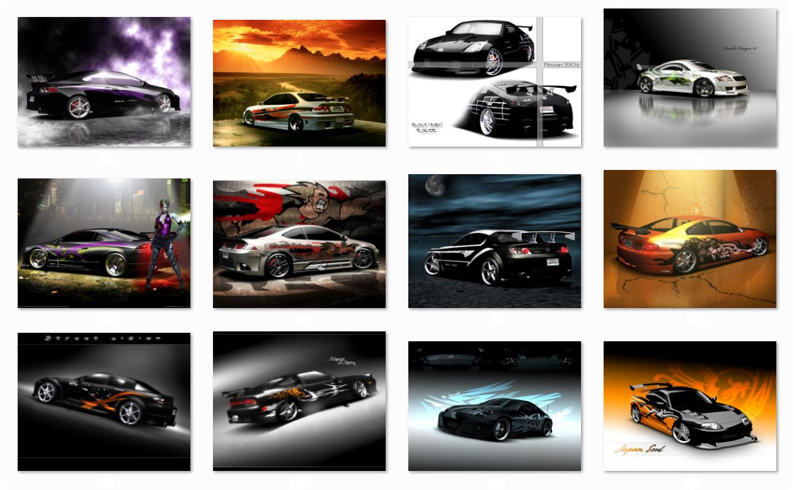 NFSU2 Wallpapers Collection by Sunde-dHk on DeviantArt