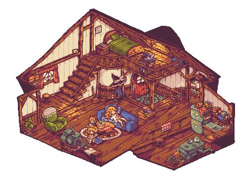 Magician home