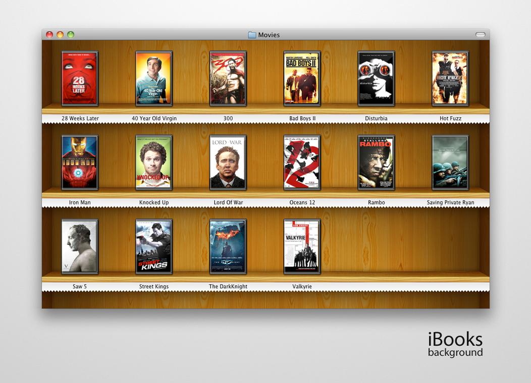 iBooks background for Finder by bobjr