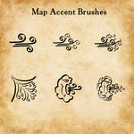 Map Accent Brushes Image Files (png)