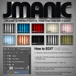 Jmanic Icons - Striped Pack 2 .PSD