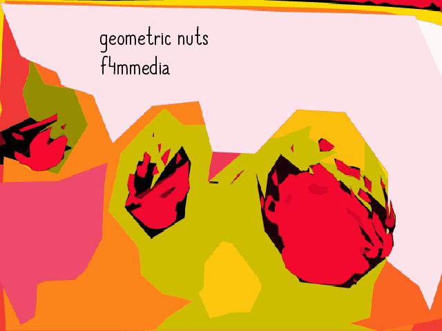 geometric nuts a by f4mmedia