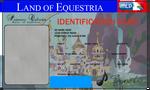 Original Character ID card template
