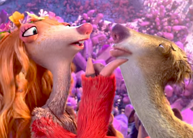Ice age 5 sid and brooke