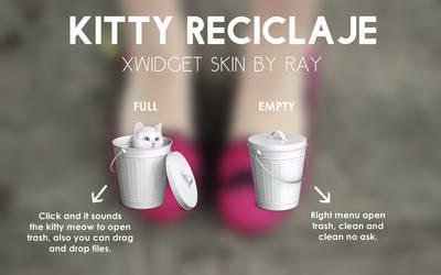 Kitty Reciclaje XWidget Skin by Ray