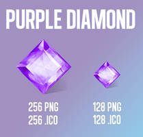 Purple Diamond by Ry