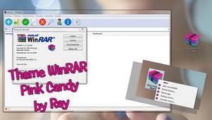 Pink Candy WinRAR Theme