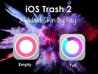 iOS Trash 2 XWidget Skin by Ray by Raiiy