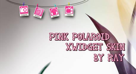 Pink Polaroid XWidget Skin by Ray by Raiiy