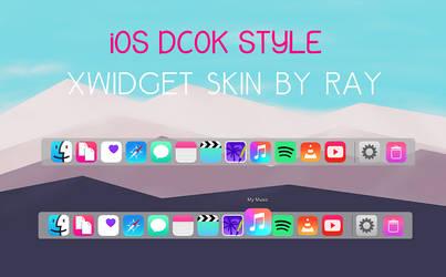 iOS Dock Style WXidget skin by Ray by Raiiy
