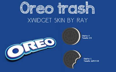 Oreo Trash XWidget Skin by Ray by Raiiy