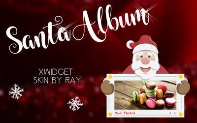 Santa Album XWidget Skin by Ray by Raiiy