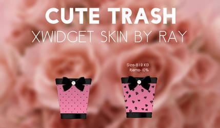 Cute Trash XWidget Skin by Ray by Raiiy