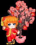 Chinese New Year Kagura by Chidorihy