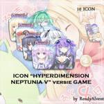 Hyperdimension Neptunia V by RendyAlvent.devia