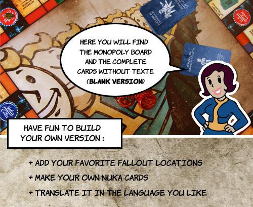 Monopoly blank version by PinkAxolotl