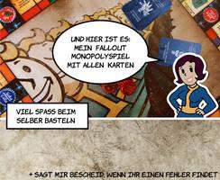 Komplett Fallout Monopoly -de- by PinkAxolotl