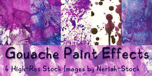 Gouache Paint Effects