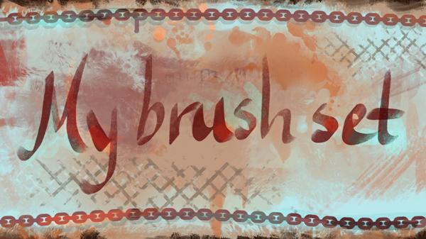 My brush set by Viccolatte